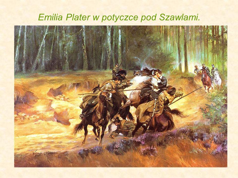Emilia Plater w potyczce pod Szawlami.