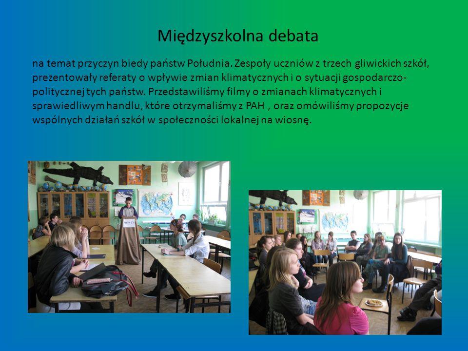 Międzyszkolna debata