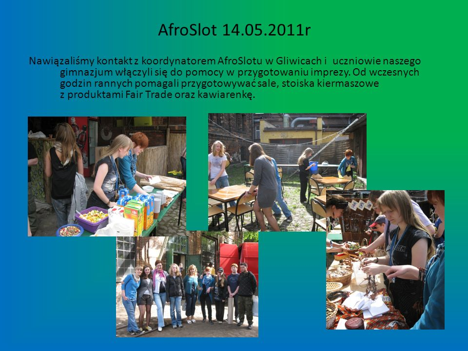 AfroSlot 14.05.2011r