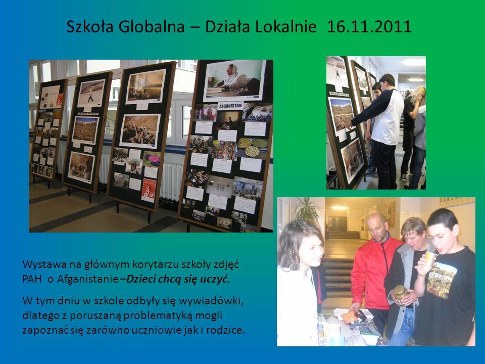 Szkoła Globalna – Działa Lokalnie 16.11.2011