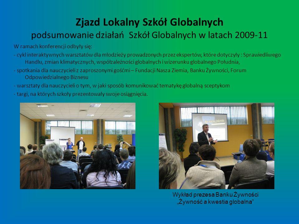 """Wykład prezesa Banku Żywności """"Żywność a kwestia globalna"""