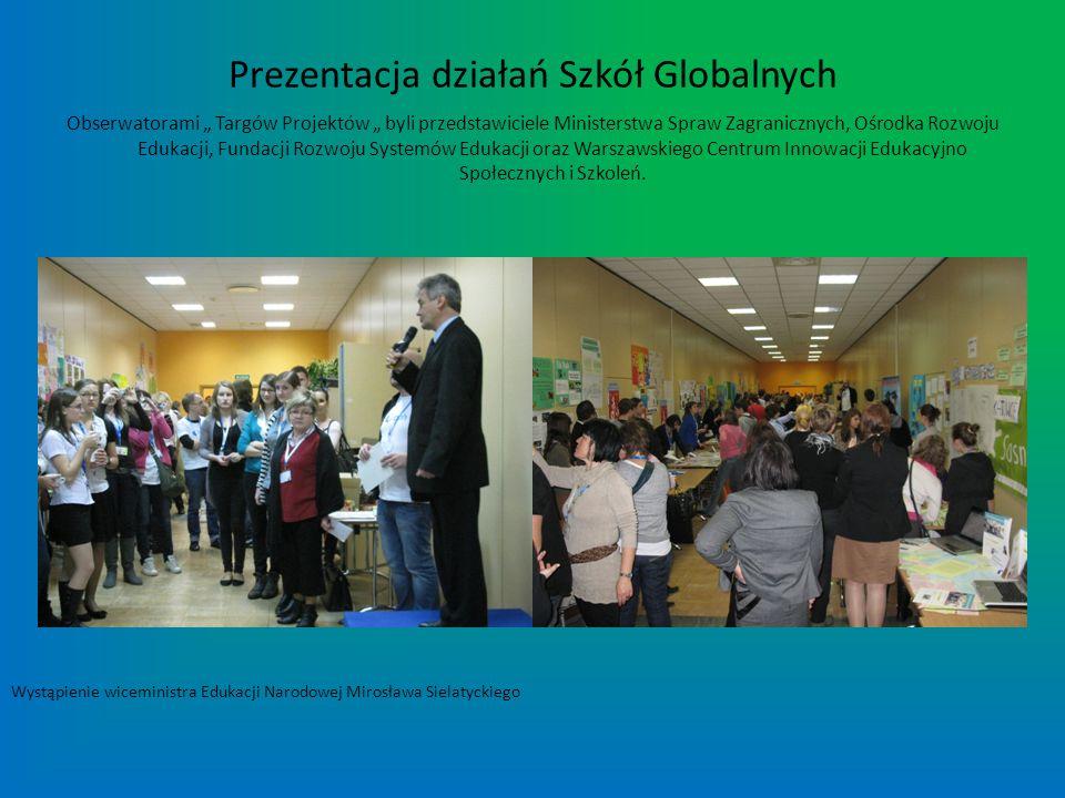 Prezentacja działań Szkół Globalnych