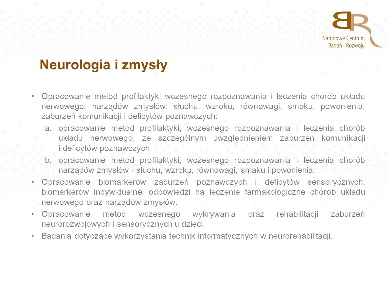 Neurologia i zmysły