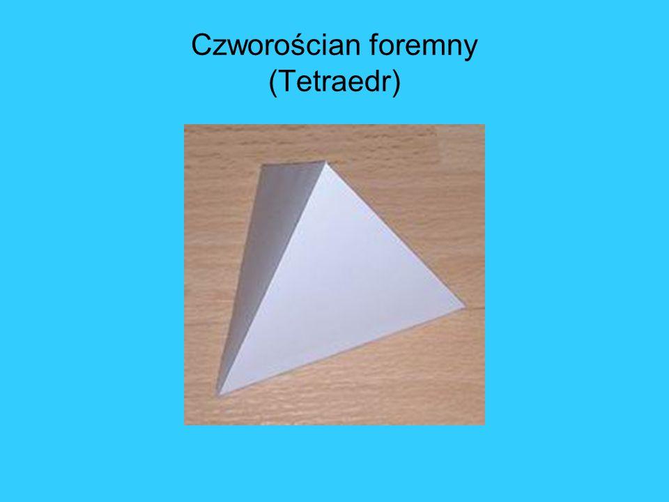 Czworościan foremny (Tetraedr)