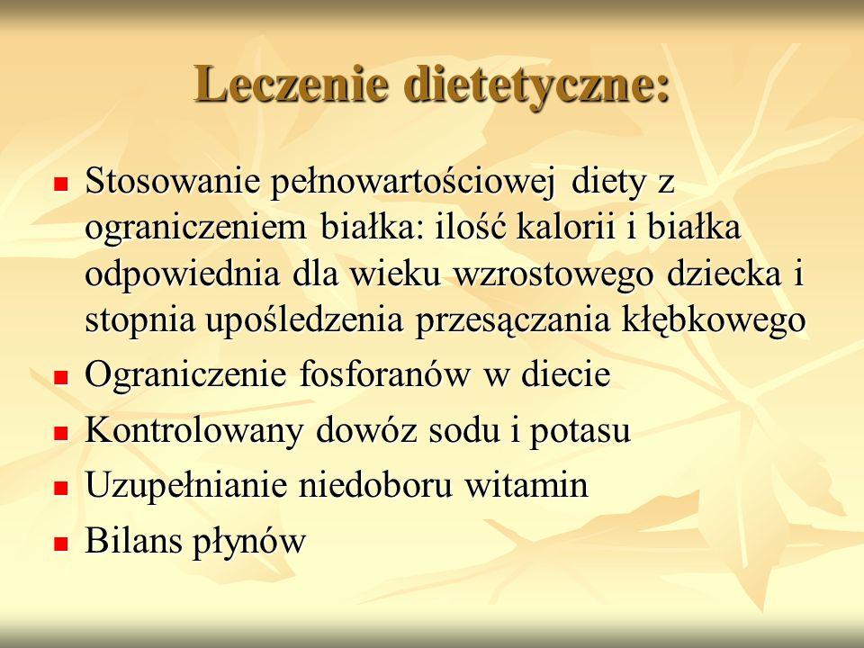 Leczenie dietetyczne: