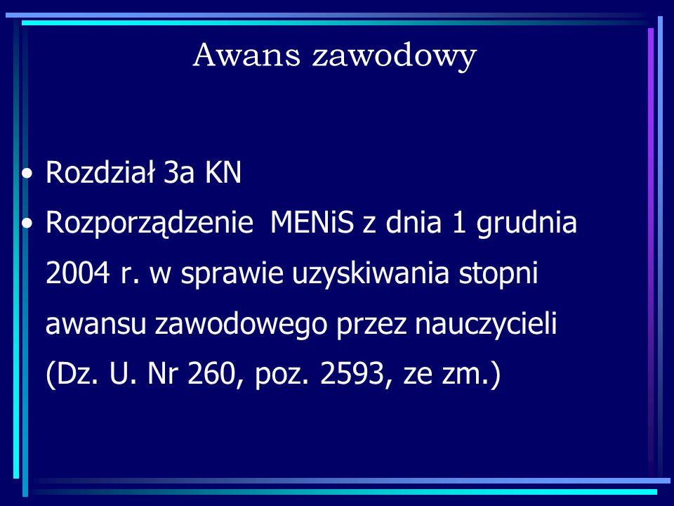Awans zawodowy Rozdział 3a KN