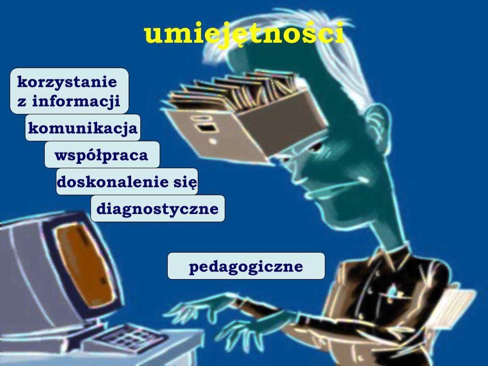 umiejętności korzystanie z informacji komunikacja współpraca