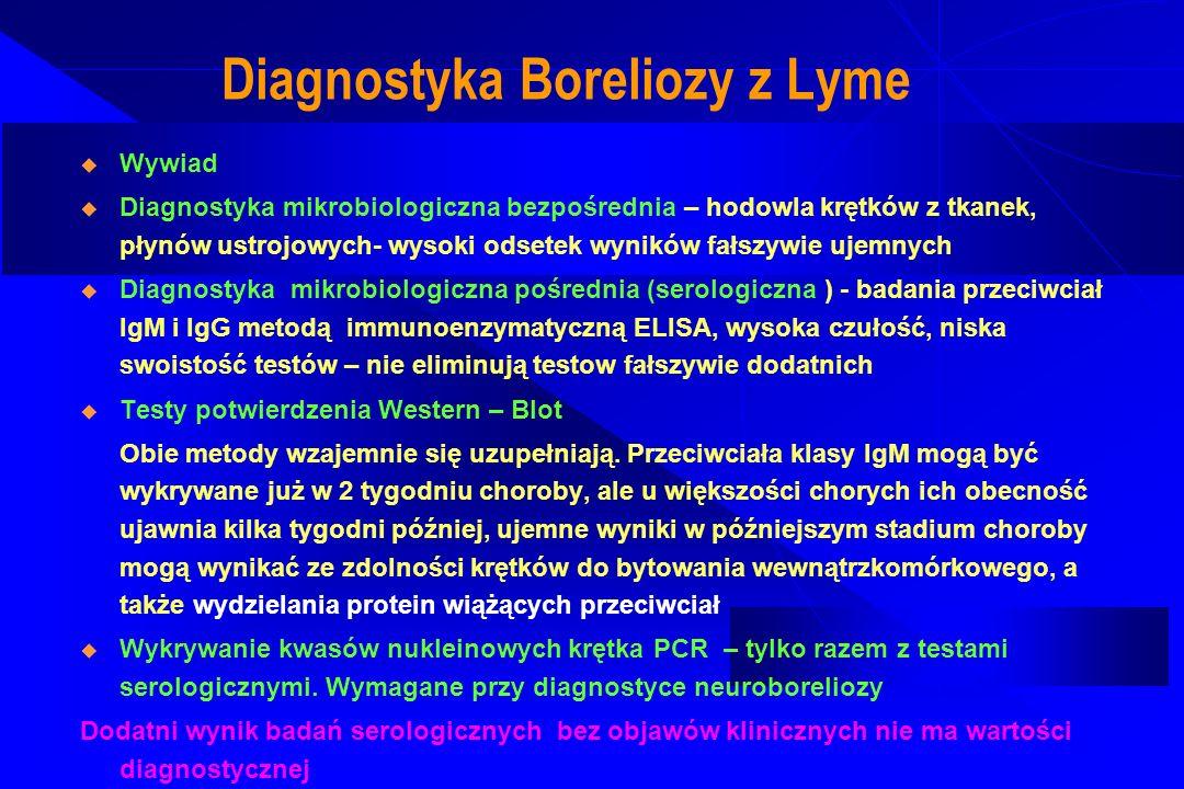 Diagnostyka Boreliozy z Lyme