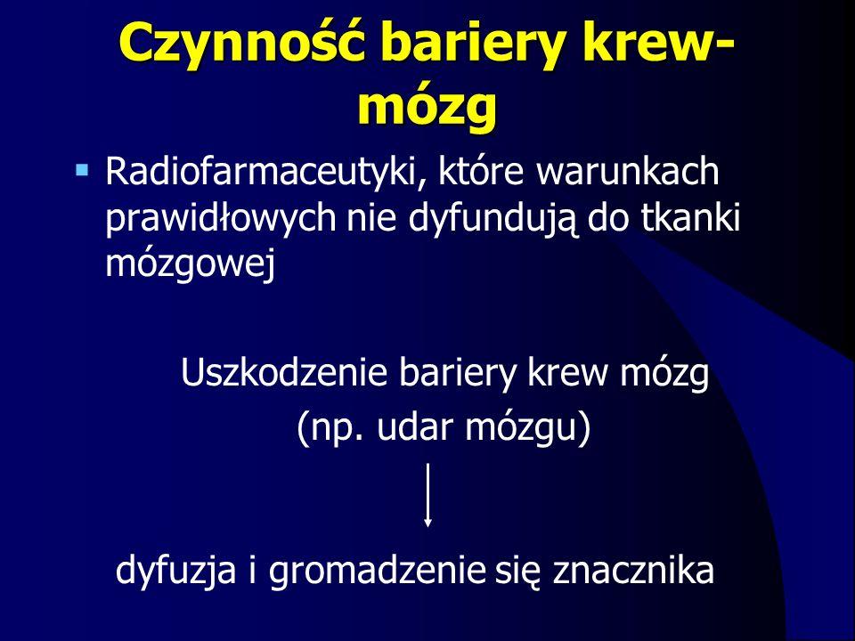 Czynność bariery krew-mózg