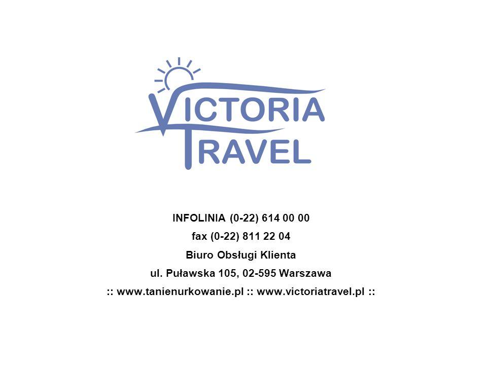 :: www.tanienurkowanie.pl :: www.victoriatravel.pl ::