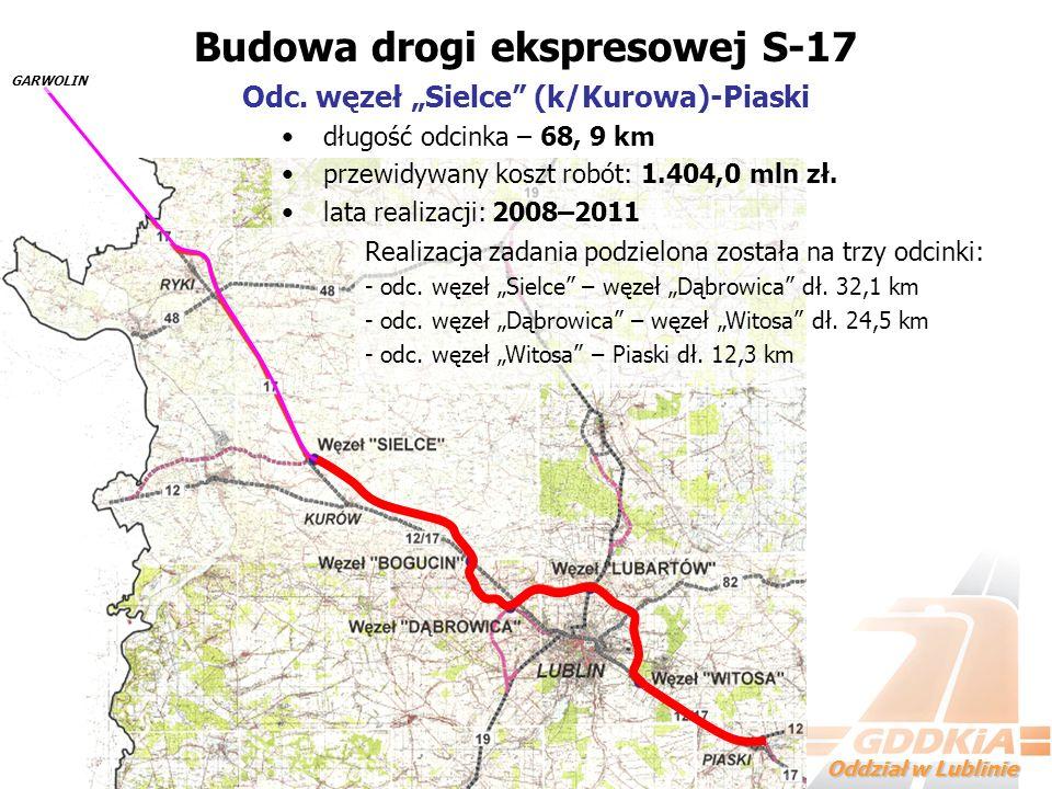 Budowa drogi ekspresowej S-17