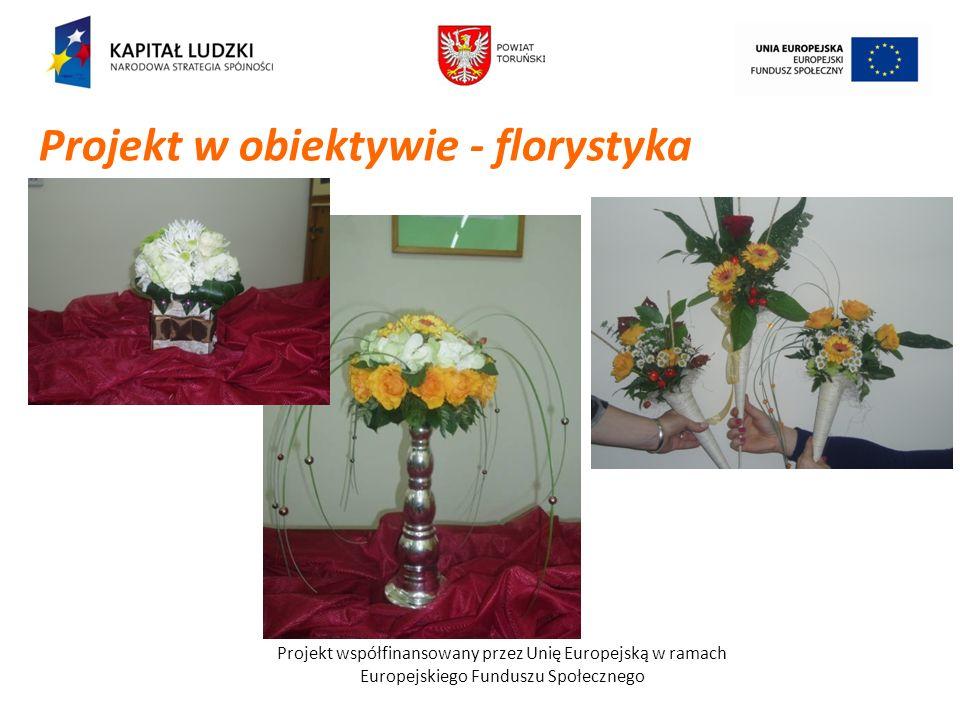 Projekt w obiektywie - florystyka