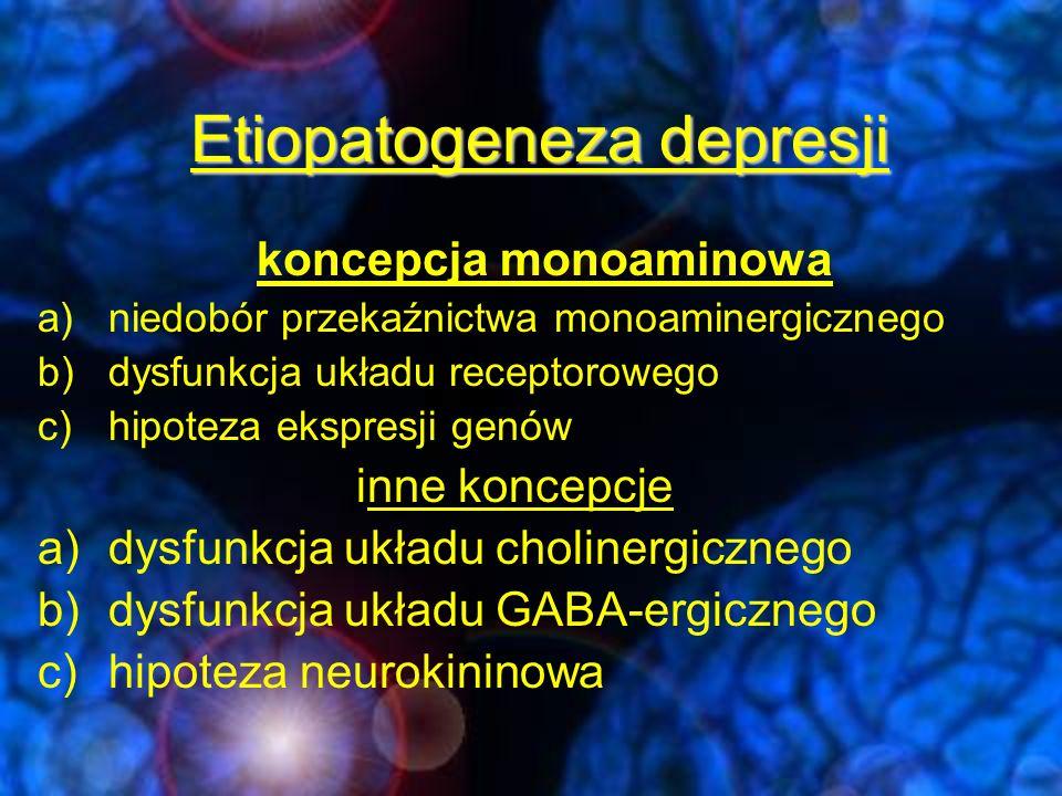 Etiopatogeneza depresji