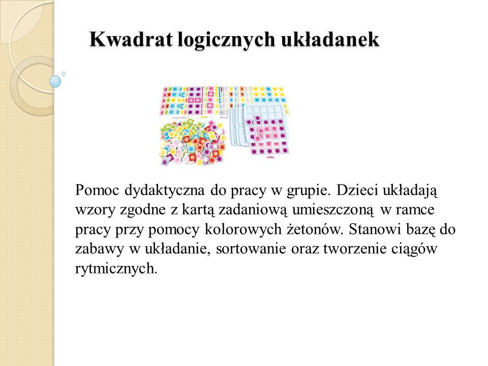 Kwadrat logicznych układanek
