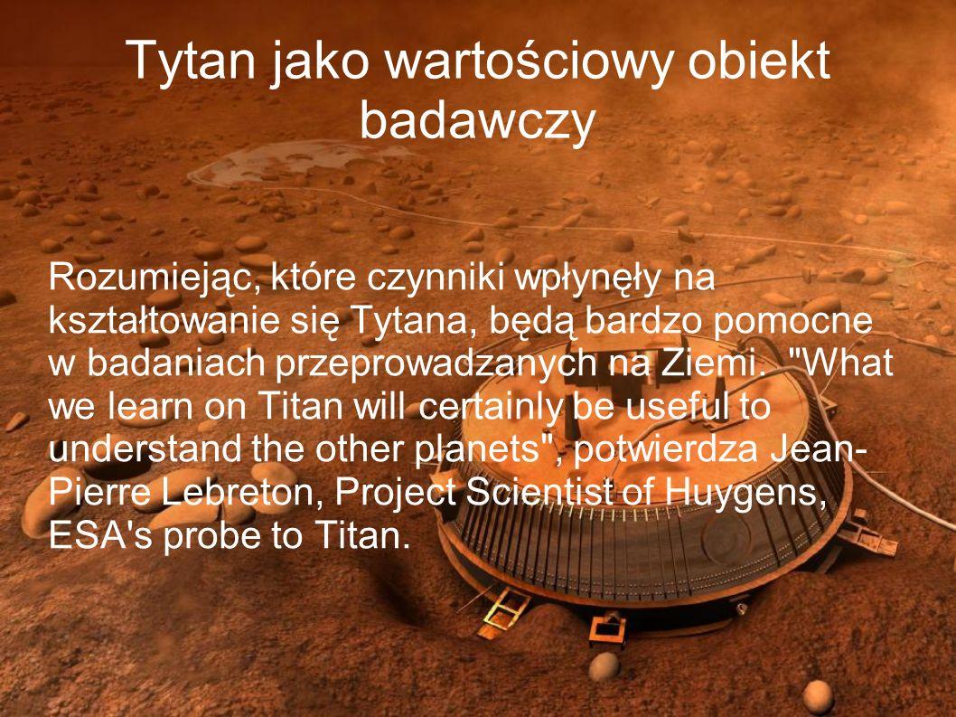 Tytan jako wartościowy obiekt badawczy