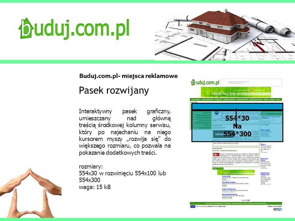 Buduj.com.pl- miejsca reklamowe
