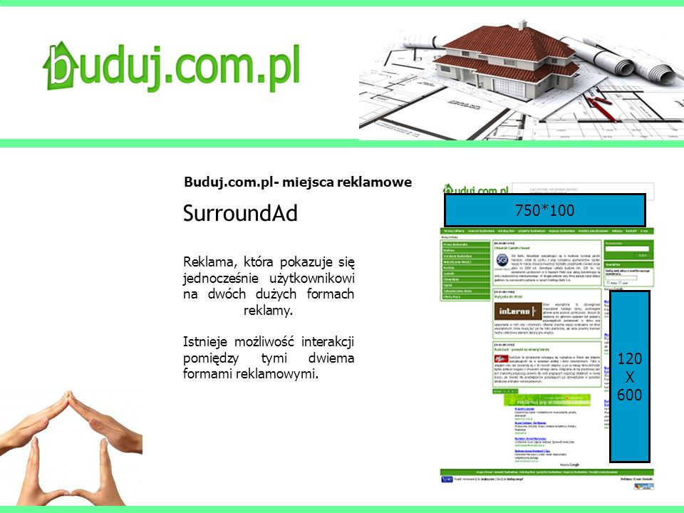 SurroundAd 750*100 120 X 600 Buduj.com.pl- miejsca reklamowe