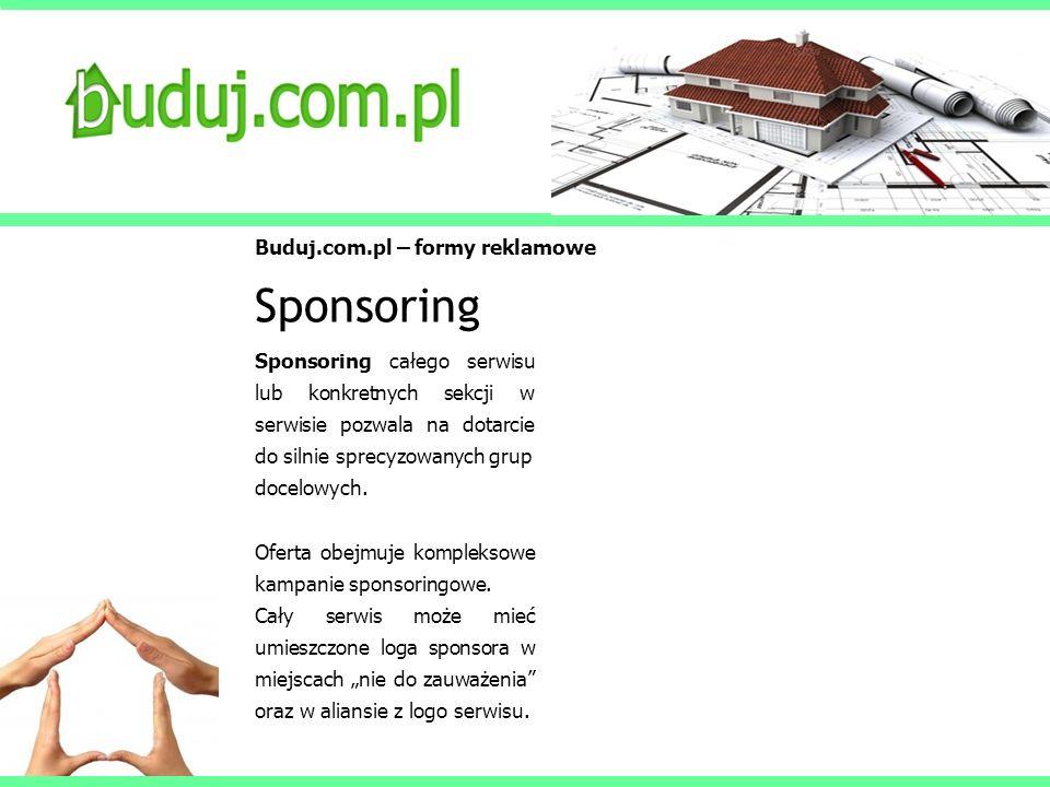 Sponsoring Buduj.com.pl – formy reklamowe