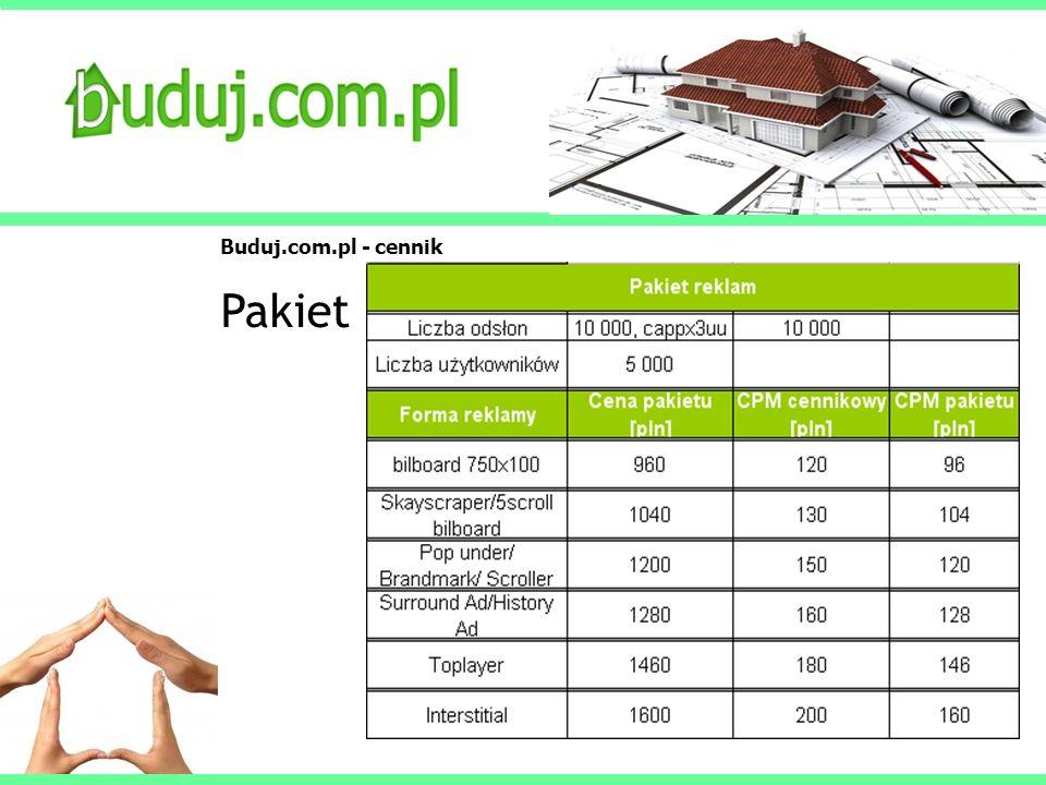 Buduj.com.pl - cennik Pakiet