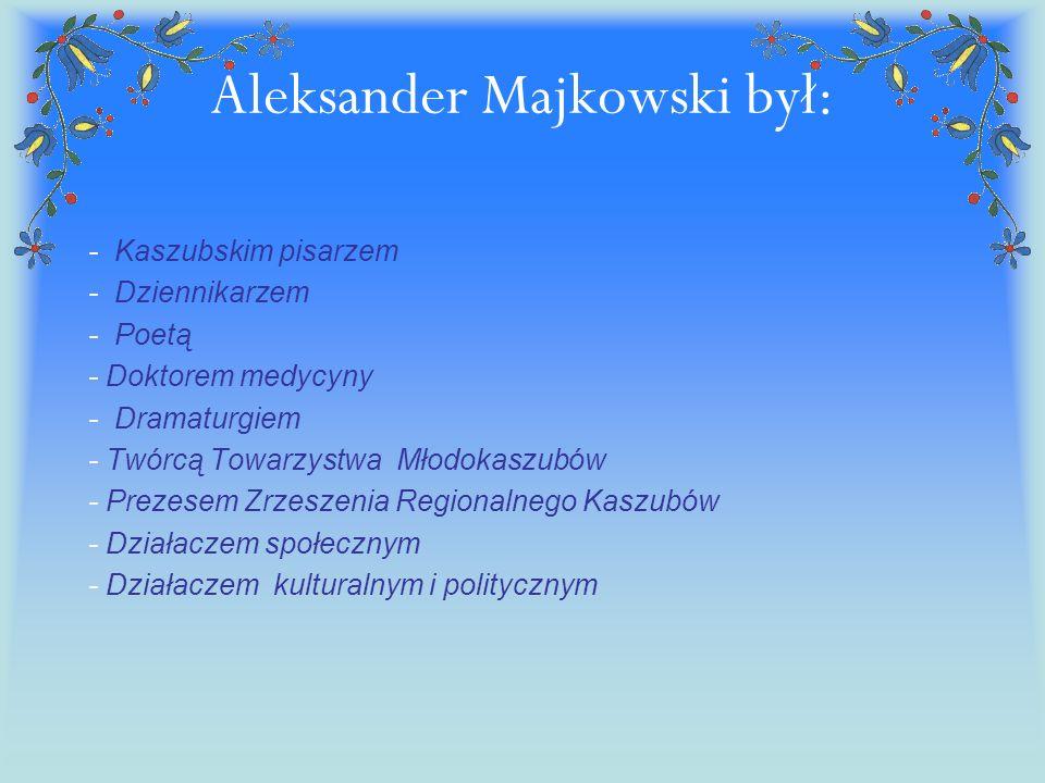 Aleksander Majkowski był: