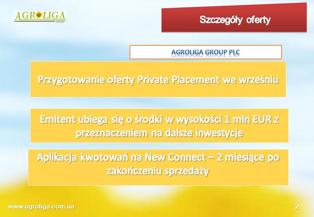 Przygotowanie oferty Private Placement we wrześniu