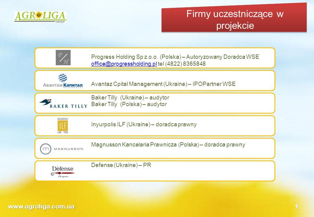 Firmy uczestniczące w projekcie