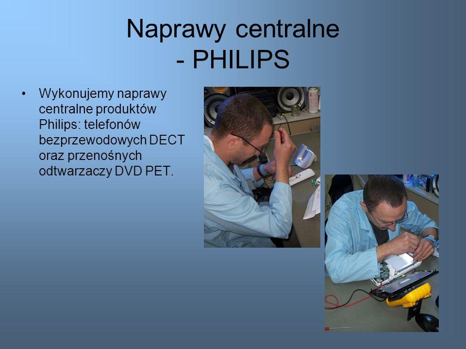 Naprawy centralne - PHILIPS