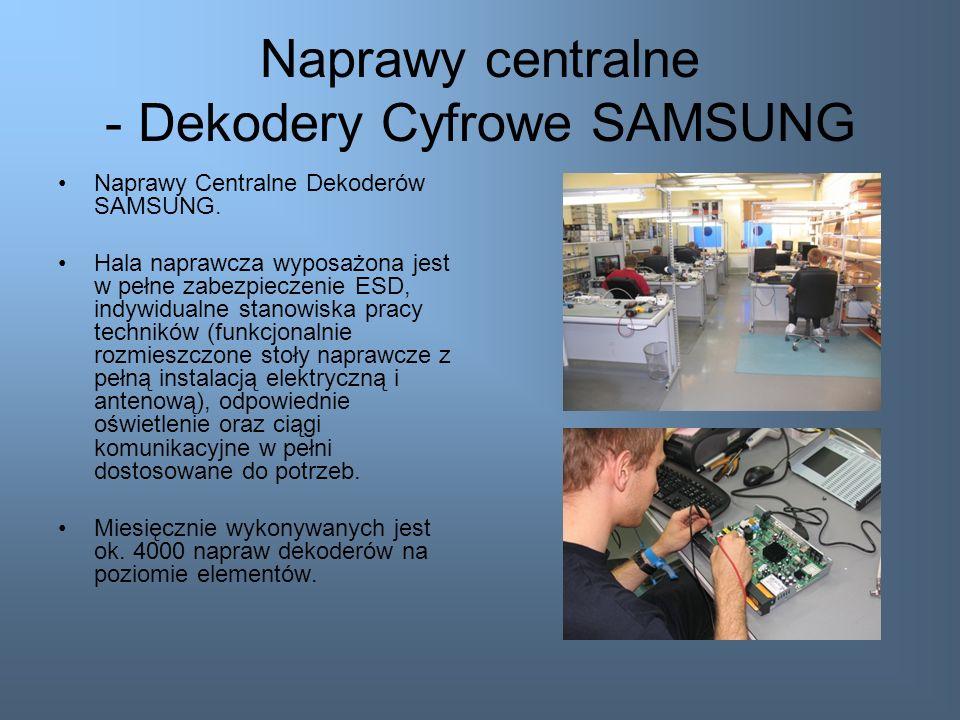 Naprawy centralne - Dekodery Cyfrowe SAMSUNG