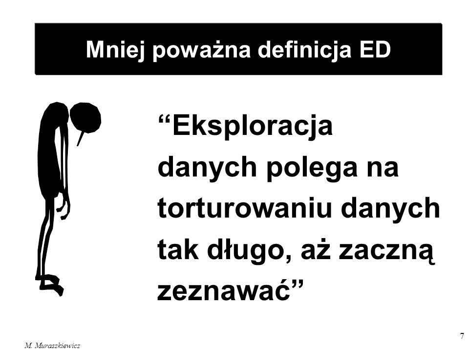 Mniej poważna definicja ED