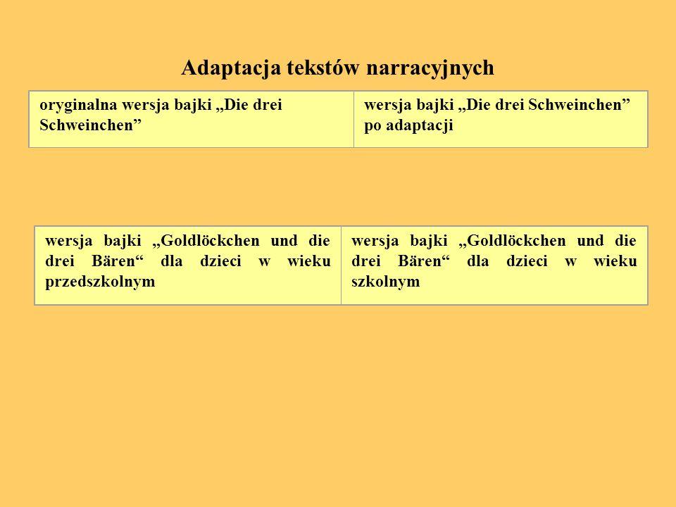 Adaptacja tekstów narracyjnych