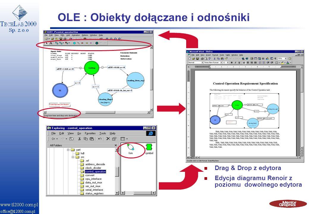 OLE : Obiekty dołączane i odnośniki