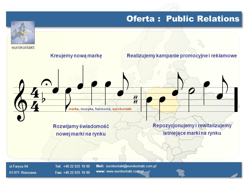Oferta : Public Relations