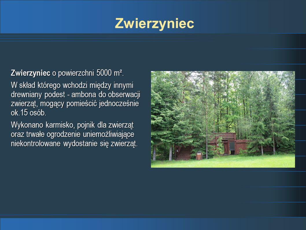 Zwierzyniec Zwierzyniec o powierzchni 5000 m².