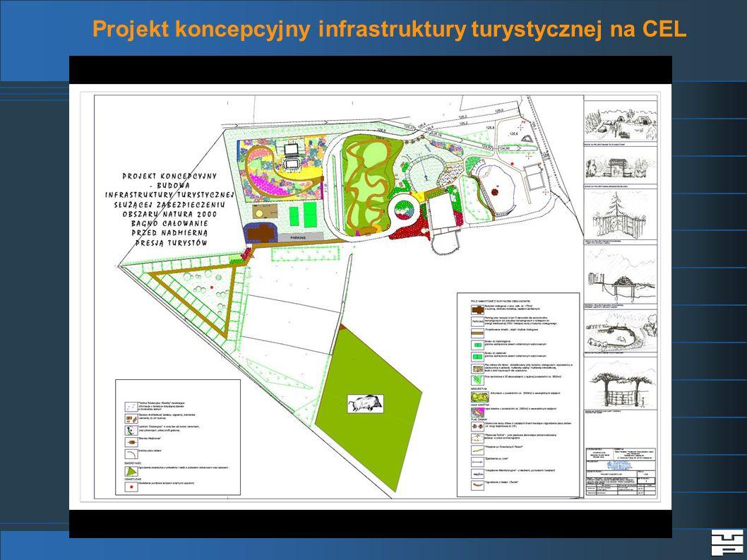 Projekt koncepcyjny infrastruktury turystycznej na CEL