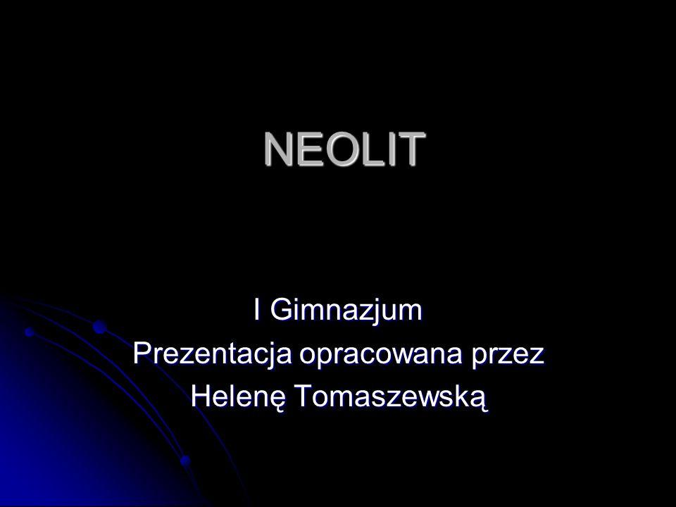 I Gimnazjum Prezentacja opracowana przez Helenę Tomaszewską