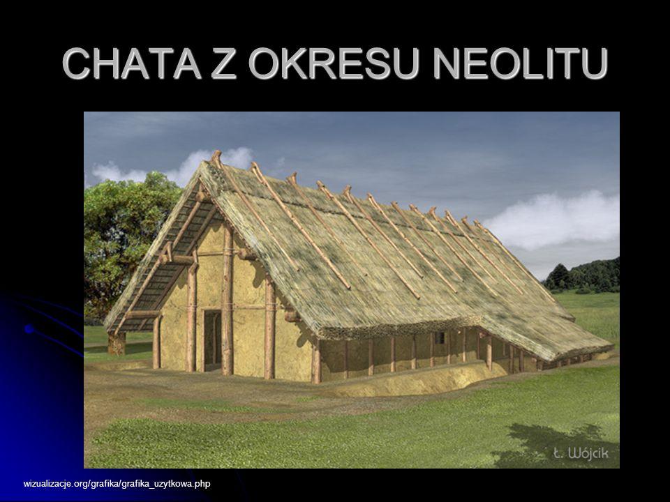 CHATA Z OKRESU NEOLITU wizualizacje.org/grafika/grafika_uzytkowa.php