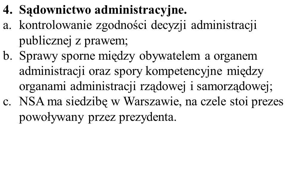 Sądownictwo administracyjne.
