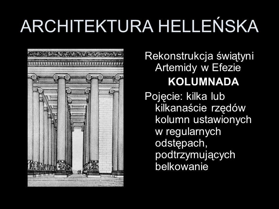 ARCHITEKTURA HELLEŃSKA