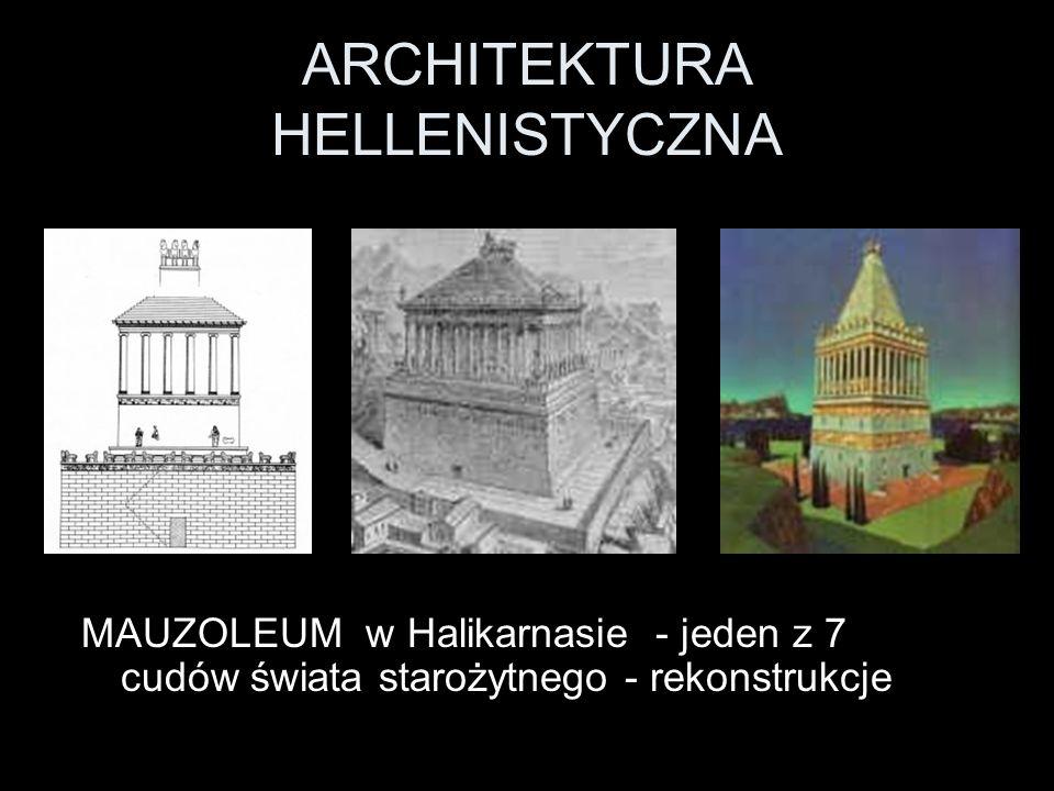 ARCHITEKTURA HELLENISTYCZNA