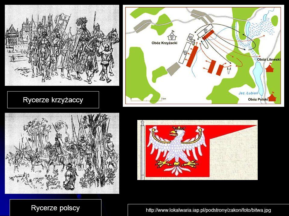 Rycerze krzyżaccy Rycerze polscy