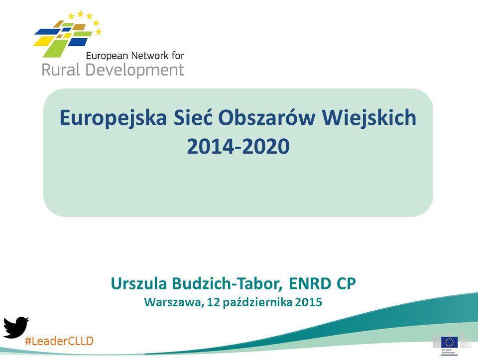 Europejska Sieć Obszarów Wiejskich 2014-2020