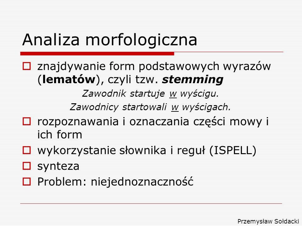 Analiza morfologiczna