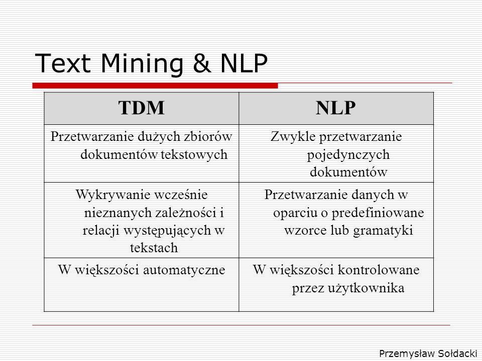 Text Mining & NLP TDM NLP