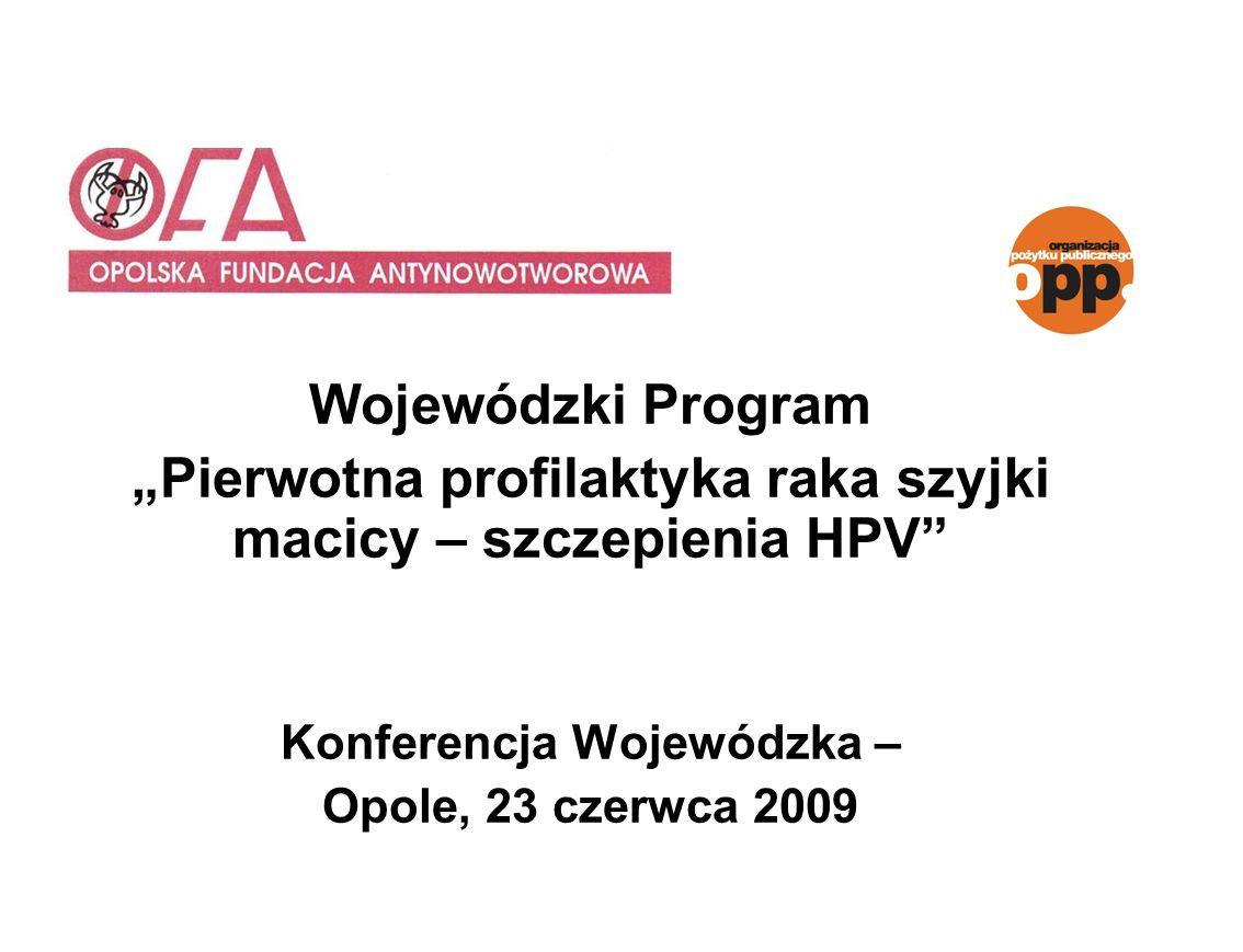 """""""Pierwotna profilaktyka raka szyjki macicy – szczepienia HPV"""