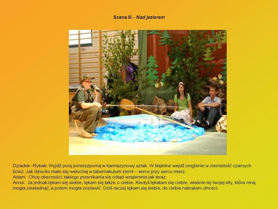 Scena III - Nad jeziorem