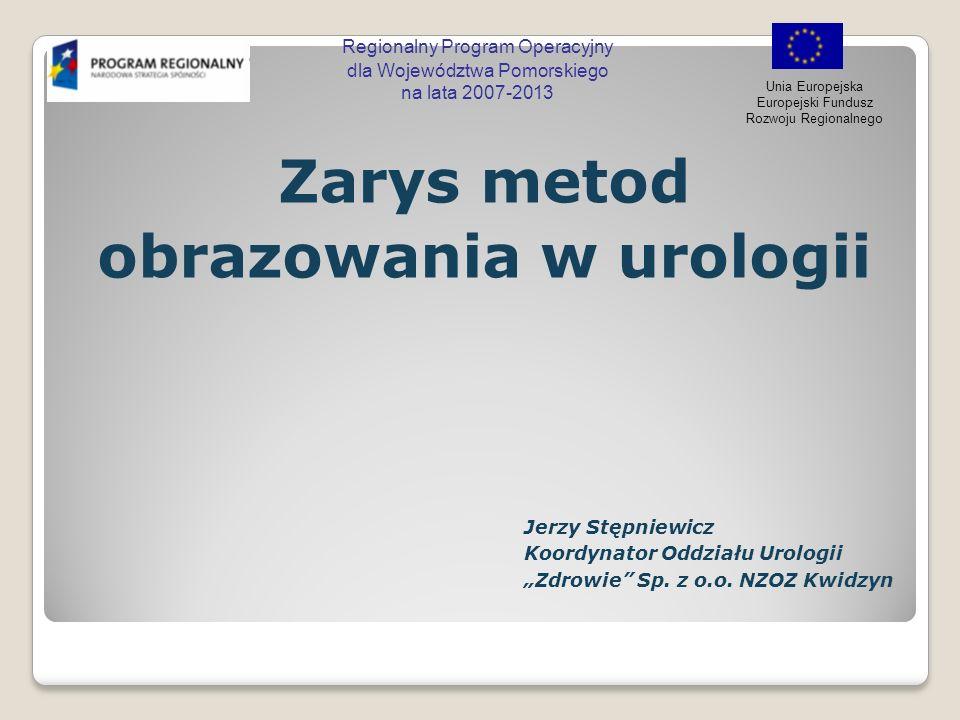Zarys metod obrazowania w urologii