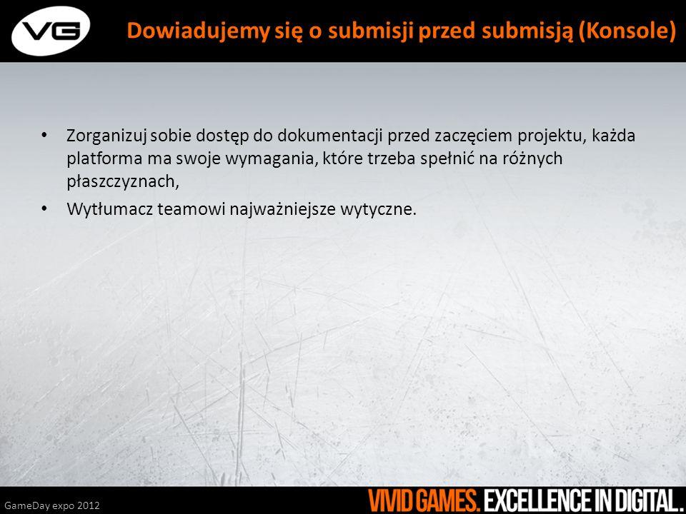 Dowiadujemy się o submisji przed submisją (Konsole)