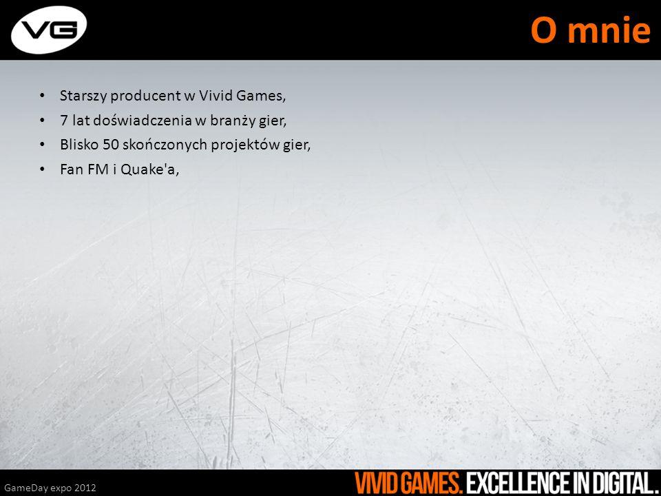 O mnie Starszy producent w Vivid Games,
