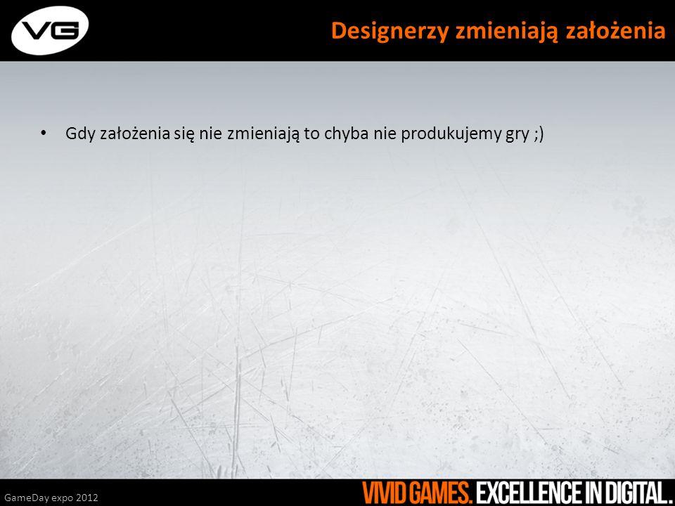 Designerzy zmieniają założenia