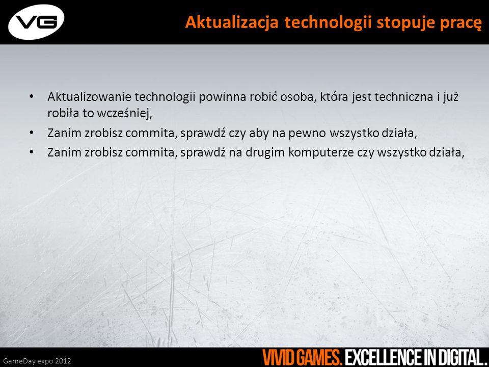 Aktualizacja technologii stopuje pracę